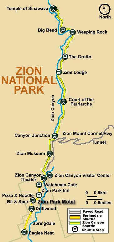 Zion Shuttle