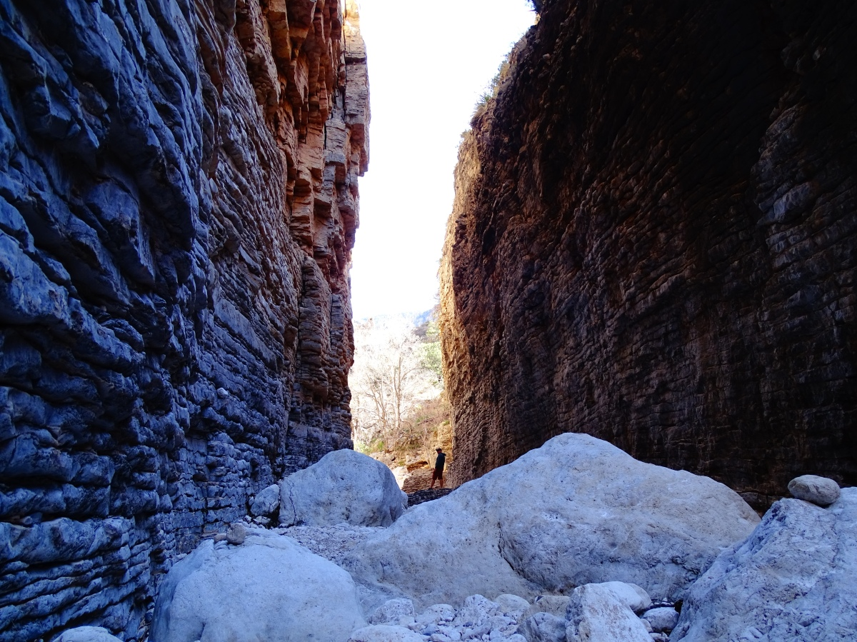 Hiking Devil's Hall Trail, Guadalupe Mountains National Park – Texas
