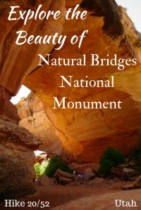 Hike Natural Bridges National Monument in Utah!