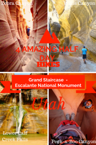 Hiking in Grand Staircase Escalante National Monument