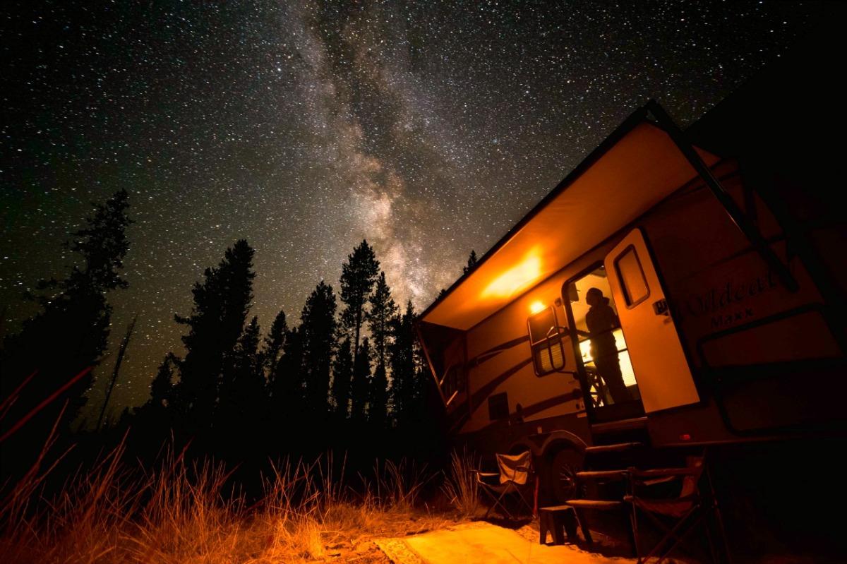 Boondocking in Sun Valley, Idaho