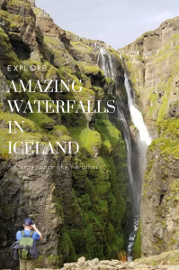 Explore Waterfalls in Iceland. #Iceland #waterfalls #TravelIceland