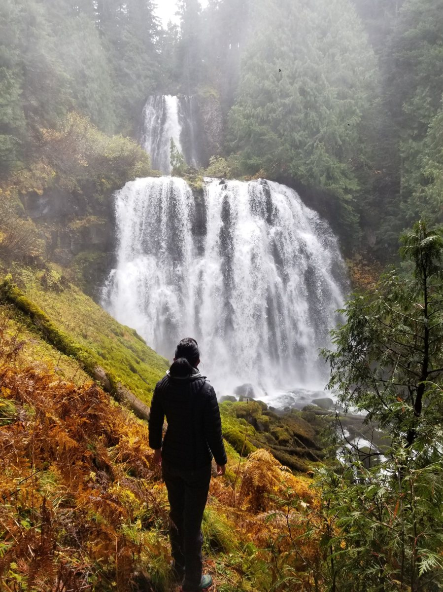 Hike to Marion Falls in Oregon